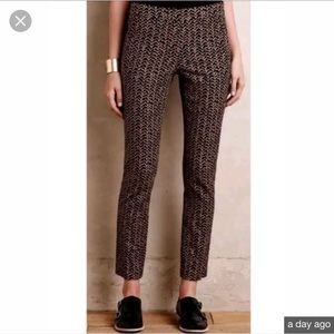 Catronnier skinny ankle print pants